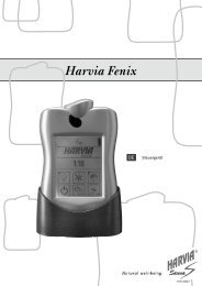 Steuergerät - Harvia