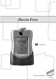Control Unit - Harvia