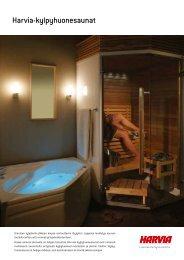 Harvia-kylpyhuonesaunat