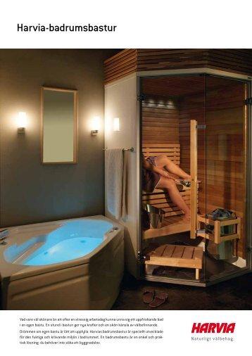 Harvia-badrumsbastur