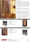 Harvia Radiant infrared cabin - Page 2