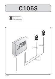 Gebrauchs- und Montageanleitung - Harvia
