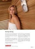 Harvia elektriska bastuaggregat - Page 3