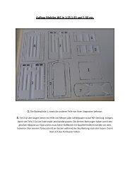 Aufbau Mobiles WC in 1:25 1:33 und 1:50 etc. - Harztec-Modellbau