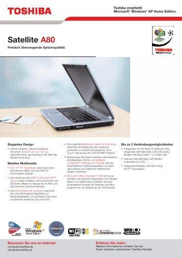 Satellite A80 - Werner