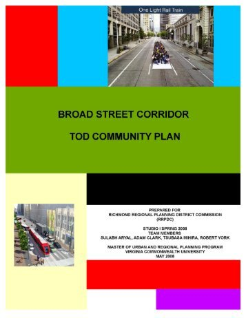 Broad Street Corridor TOD Plan - Virginia Transit Association