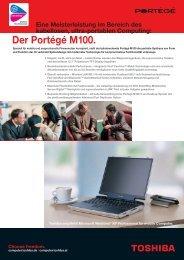 Der Portégé M100. - Werner