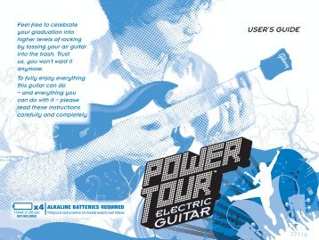 Power Tour Guitar Instructions - Hasbro