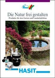 Die Natur frei gestalten - Hasit