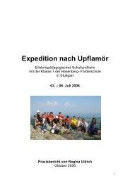 Abschlussbericht Praxisprojekt 10.2006 - Hasenbergschule