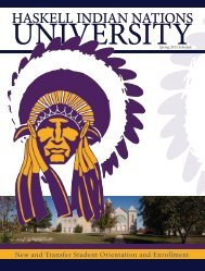 Sequoyah Hall - Haskell Indian Nations University Athletics