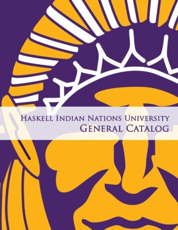 General Catalog - Haskell Indian Nations University