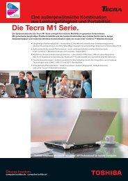 Die Tecra M1 Serie. - Werner