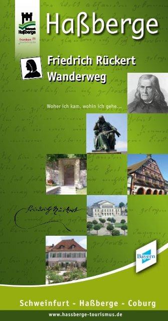 Friedrich Rückert Wanderweg Friedrich Rückert ... - in den Haßbergen