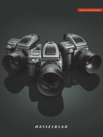 Catalogo dei prodotti Hasselblad