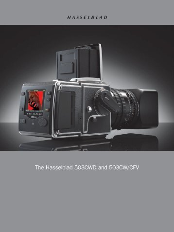 The Hasselblad 503CWD and 503CW/CFV