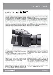 FOTOCAMERE DIGITALI - Hasselblad