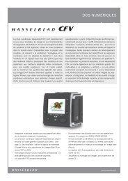 DOS NUMERIQUES - Hasselblad