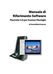 Flexcolor 4 manual V4 IT.indd - Hasselblad