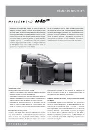 cámaras DIGITaLEs - Hasselblad