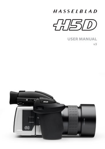 H5D User Manual - Hasselblad