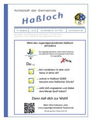Telefon - Gemeinde Haßloch