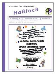 Gemeinde Haßloch