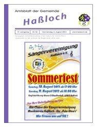 volkshochschule hassloch ev studienreisen 2014 - Gemeinde Haßloch