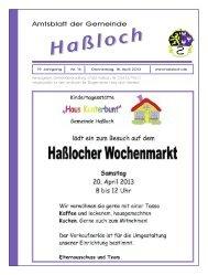 Nr. 16 - Gemeinde Haßloch
