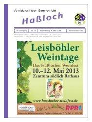 Nr. 19 - Gemeinde Haßloch