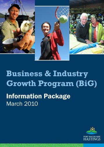 Business & Industry Growth Program (BiG) - Hastings Council