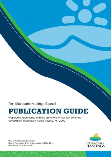 View the GIPA Publication Guide (807KB) - Hastings Council