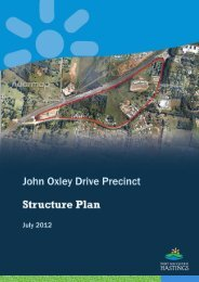 John Oxley Drive Precinct Structure Plan, July 2012 - Hastings ...