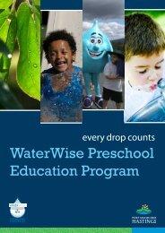 WaterWise Preschool Education Program - Hastings Council