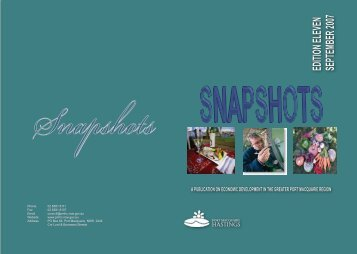 Snapshots, Edition 11, September 2007.pdf - Hastings Council