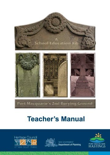 Teacher's Manual (3.61MB) - Hastings Council