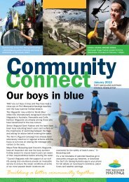 Our boys in blue - Hastings Council