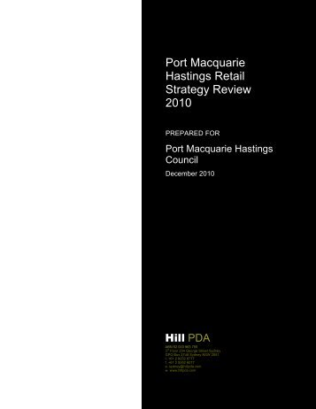 Port Macquarie Hastings Retail Strategy Review ... - Hastings Council