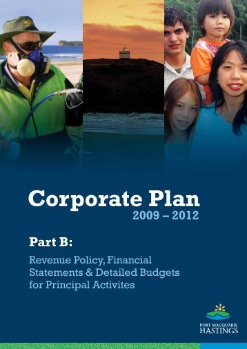 Corporate Plan 2009-2012: Part B.pdf (2.99MB) - Hastings Council