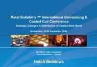 Presentation: Strategic Changes in Distribution of Coated ... - Hatch