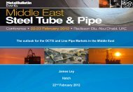 The outlook for the OCTG and Line Pipe Markets in the ... - Hatch