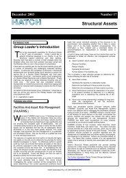 Structural Assets Newsletter #17, December 2003 [pdf, 374 ... - Hatch