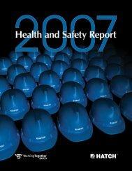 Hatch Safety Report 2007 [pdf, 2.89 MB]