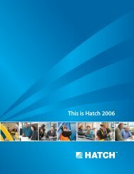 Annual Review - This is Hatch 2006 [pdf, 1.88 MB]