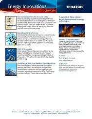 Energy Innovations - October 2010 [pdf, 546.15KB] - Hatch
