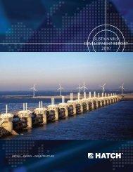 Sustainable Development Report 2010 [pdf, 2.13 MB] - Hatch