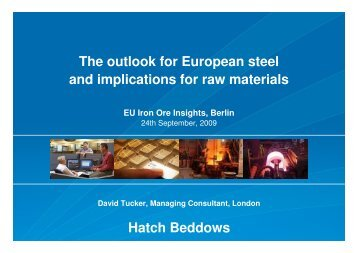 Presentation: The outlook for European steel and implications - Hatch