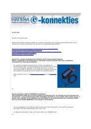 03-02-2011 Geachte mevrouw Brouwer, Middels deze ... - Hateha