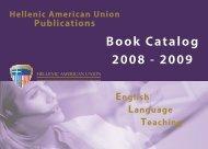 2008 - 2009 Book Catalog - Hellenic American Union