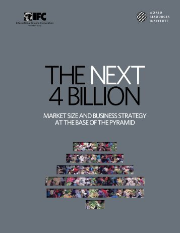 MARKET SIZE AND BUSINESS STRATEGY AT THE BASE OF ... - MIT